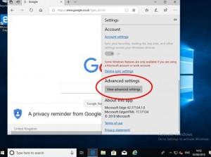 Set Edge to use Google Search 2